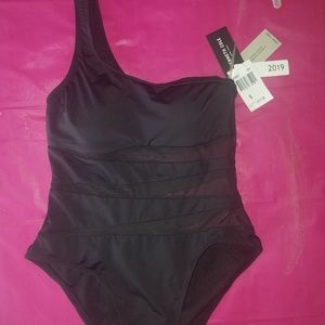 Kenneth Cole one strap sheer suit